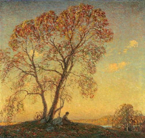 Wilson Henry Irvine (American, 1869-1936) Evening 30 x 32in