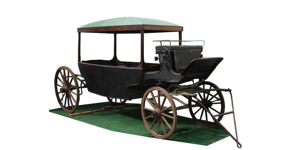 A 19th Century French horse drawn carriage