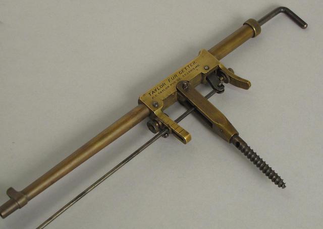 A Taylor Fur Getter trap gun