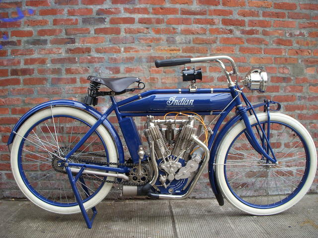 1911 Indian 61ci Twin Engine no. 71C133