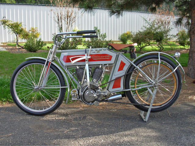 1911 Excelsior 30.5ci Auto-Cycle Twin Engine no. T1981