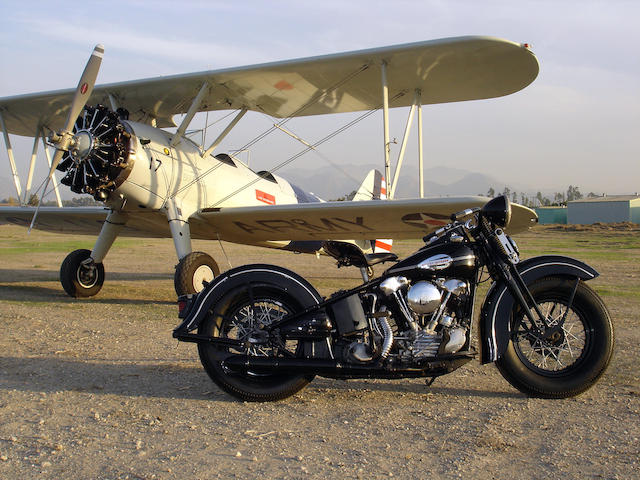1941 Harley-Davidson 74ci FL Frame no. 41FL6176