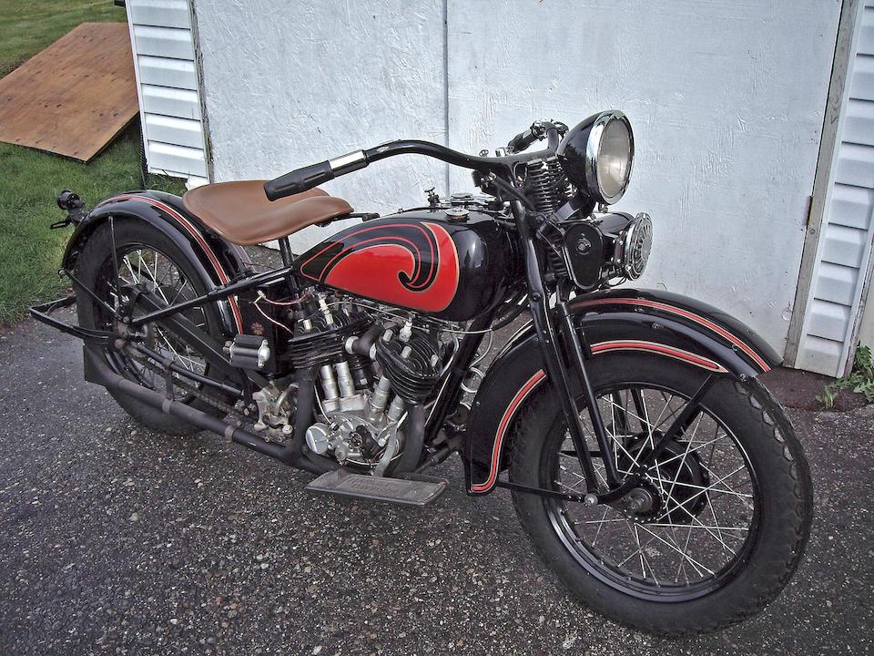 1931 Harley-Davidson 45ci DL Engine no. 31DL1340