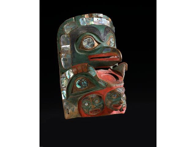 A fine Tlingit frontlet