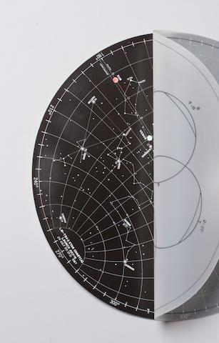 FLOWN Apollo 11 Lunar Surface Star Chart
