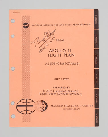 APOLLO 11 FINAL FLIGHT PLAN