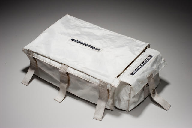 FLOWN Apollo 15 Lunar Module Film Magazine Storage Case