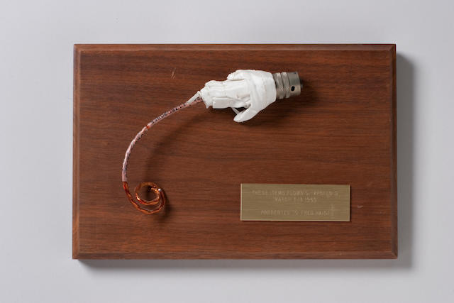 FLOWN APOLLO 9 electrical connector with a 6-inch long wire