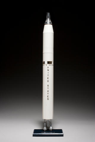 GEMINI TITAN Rocket Model by Topping