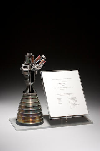 APOLLO REACTION CONTROL ROCKET ENGINE.