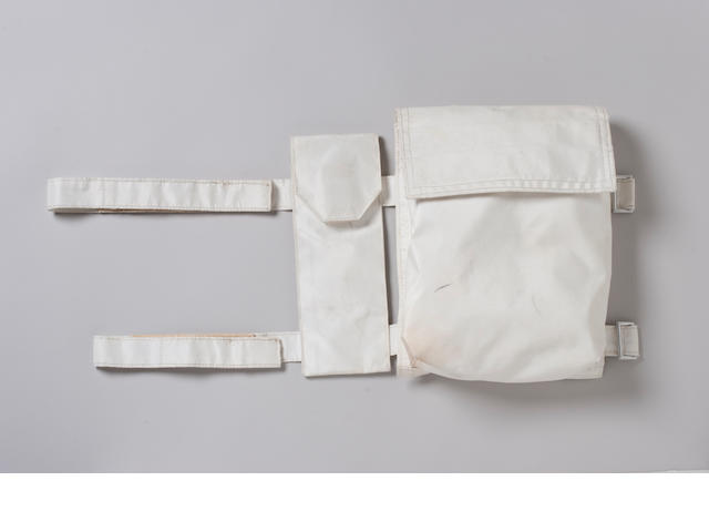 FLOWN APOLLO 13 SPACE SUIT STRAP-ON Pocket for C-List and Scissors