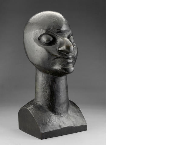 Raymond Duchamp-Villon (French, 1876-1918) Maggy, 1912 28 3/8 x 13 3/16 x 14 15/16in (72 x 33.5 x 38cm)