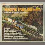 Marx boxed electric trains