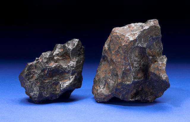 Two Canyon Diablo Meteorites