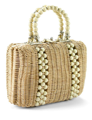 Estelle Getty's straw purse used throughout the series The Golden Girls