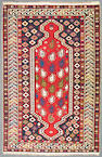 A Shirvan rug size approximately 3ft. 11in. x 6ft.