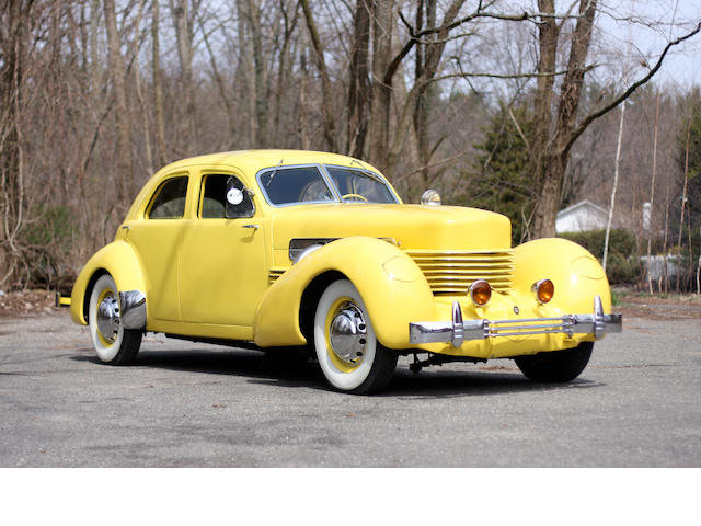 1937 Cord  Beverly Supercharged  Chassis no. 31839S