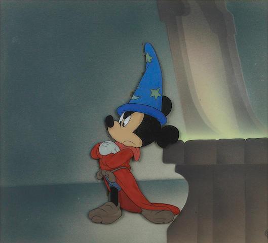 """A Walt Disney celluloid from """"Fantastia"""""""