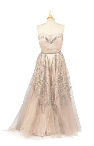 A Christina Aguilera gown, 2000s