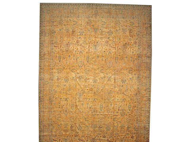 A Sivas carpet Central Anatolia, size approximatley 14ft. 3in. x 22ft.