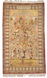 A Kerman carpet South Central Persia, size approximately 5ft. 5in. x 8ft. 4in.