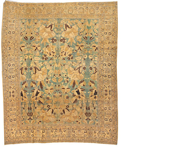 A Tabriz carpet Northwest Persia, size approximately 9ft. 10in. x 12ft.