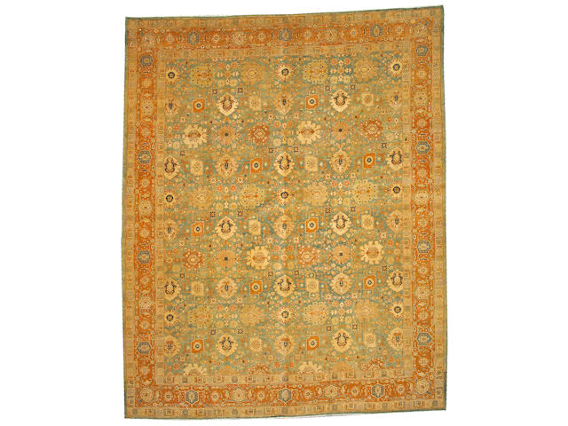 A Tabriz carpet Northwest Persia, size approximately 9ft. 5in. x 12ft. 2in.