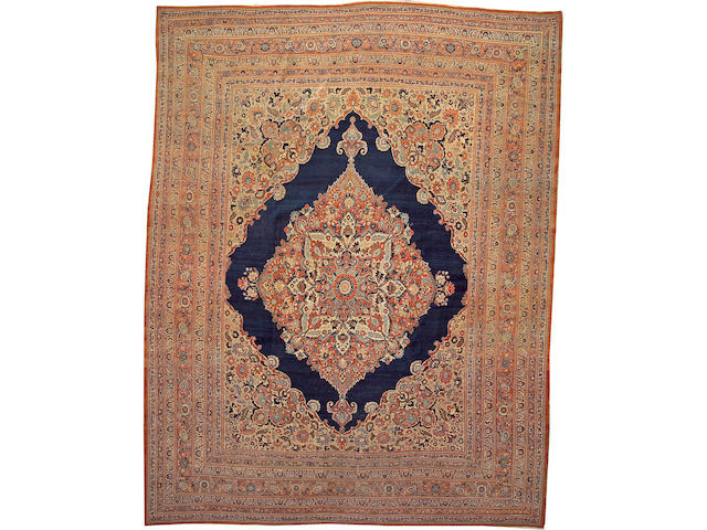 A Hadji Jalili Tabriz carpet Northwest Persia, size approximately 11ft. 3in. x 14ft. 7in.