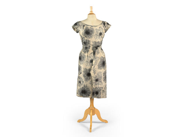 "A Joan Crawford dress from ""Straight Jacket"""