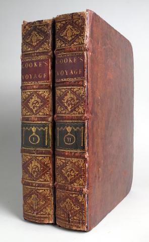 COOK, JAMES. 1728-1779.