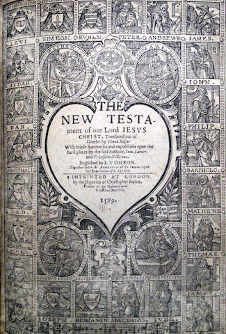 [BIBLE, IN ENGLISH, GENEVA VERSION.]