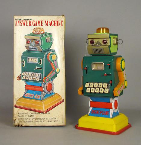 Answer Machine Robot