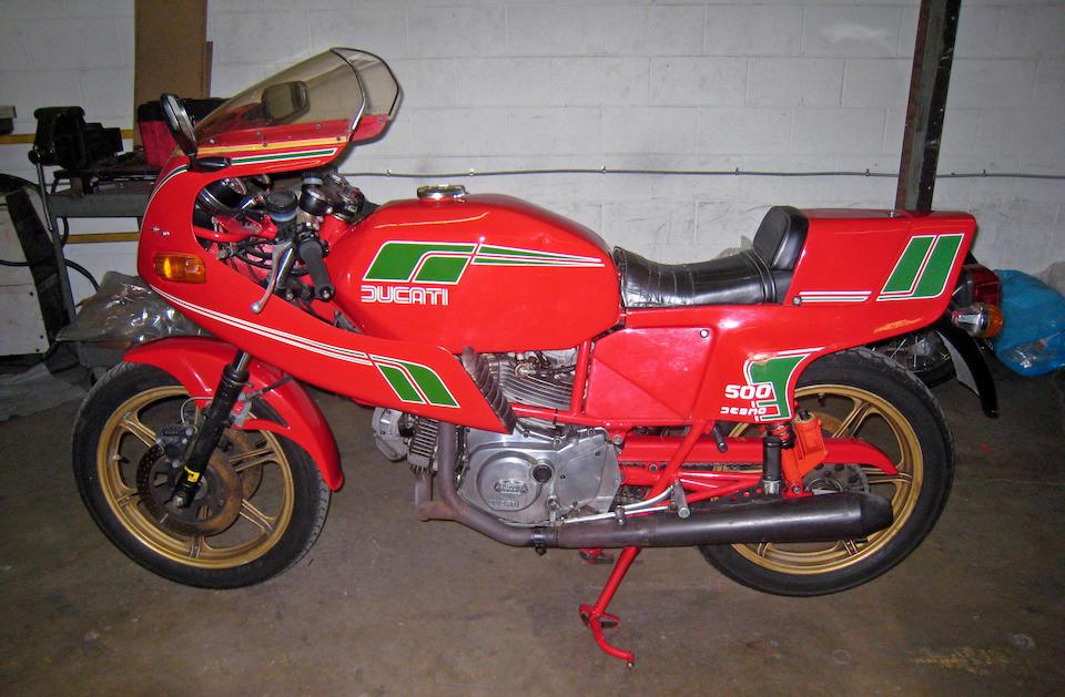 1981 Ducati 500 SL Pantah Frame no. DM600SLA661673 Engine no. DM500L.1 602456