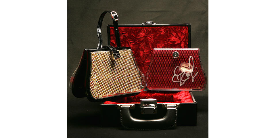 "Eva Longoria ""Desperate Housewives"" Kissed and Autographed Cased Handbag"