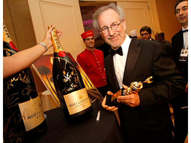 Moet & Chandon 6 liter Methuselah Celebrity Autographed Champagne