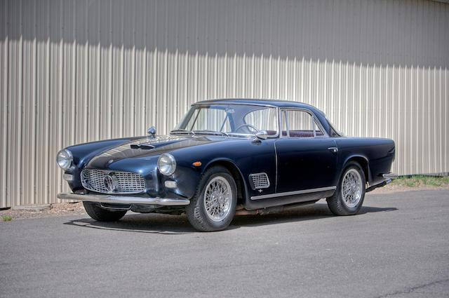 Bonhams : 1962 Maserati 3500 GTi Superleggera Coupe by Touring Chassis no. 101-2476
