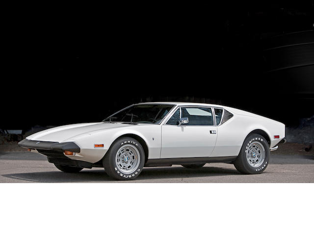 Just 100 miles from new, totally original,1974 De Tomaso Pantera L  Chassis no. THPNNE06879