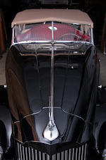 The ex-Clark Gable,1938 Packard Eight Convertible Victoria  Chassis no. A309389 Engine no. C325338D