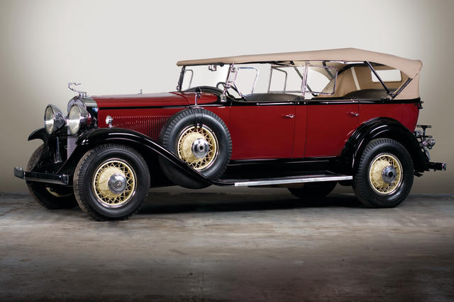 Full CCCA Classic,1931 LaSalle Series 345-A 7-Passenger Touring  Chassis no. 900954