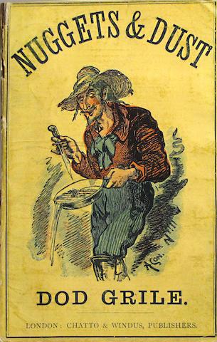 BIERCE, AMBROSE.  1842-1914?
