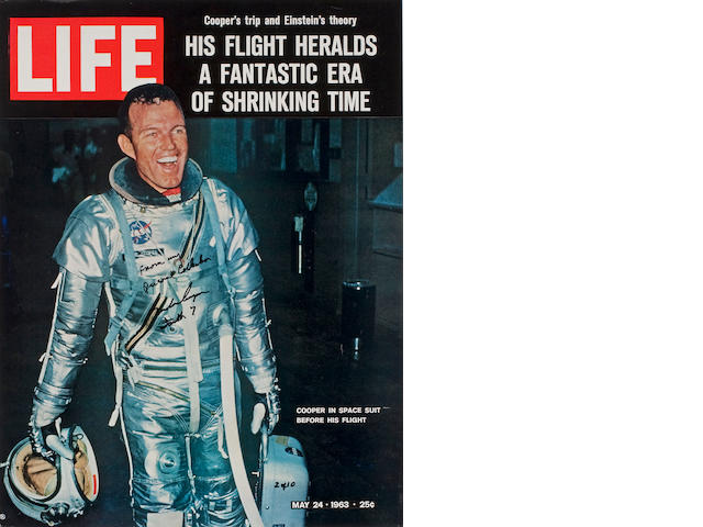 LIFE MAGAZINE COVER SHEET  (Cooper Collection)