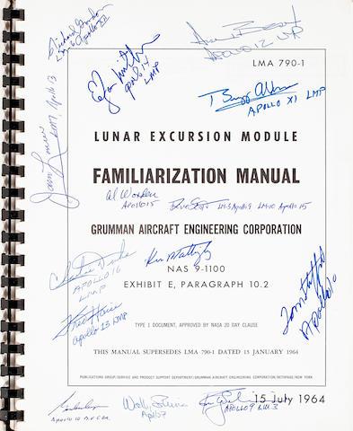 LUNAR MODULE FAMILIARIZATION MANUAL.