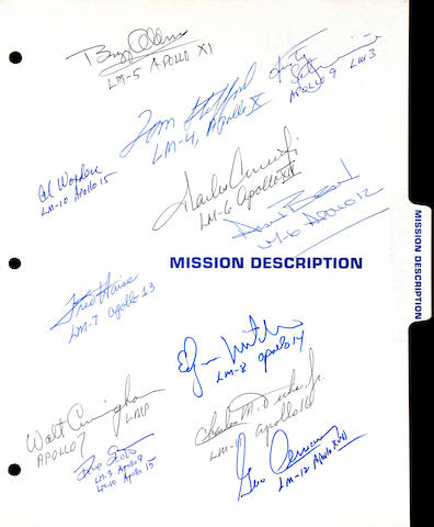 THE MEDIA GUIDE FOR THE LUNAR MODULE.