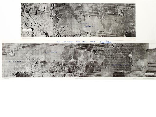 Apollo 11 LM Descent Monitoring Charts, 2 sheets