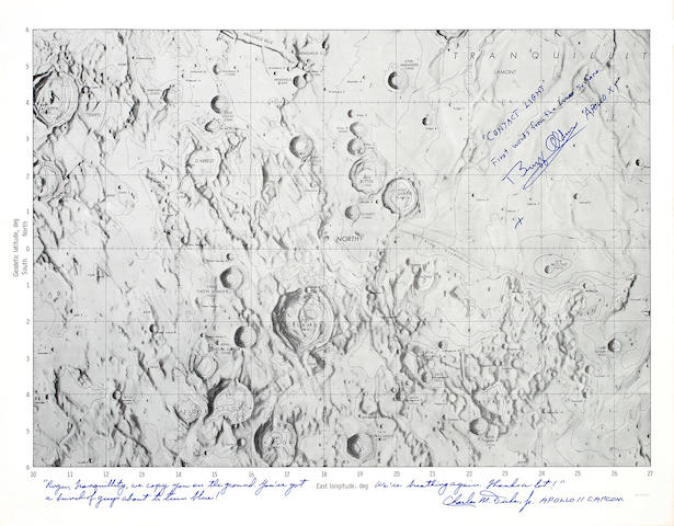 Apollo 11 Landing Site, MSC Internal Mare Tranqillitatis Chart
