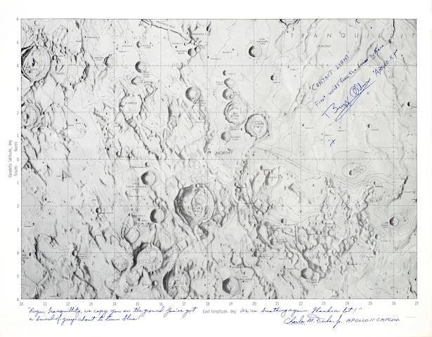 Apollo 11 Landing Site, MSC Internal Mare Tranqillitatis Chart