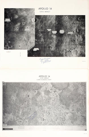 APOLLO 14 S-IV-B IMPACT,  2, each Mitchell Signed