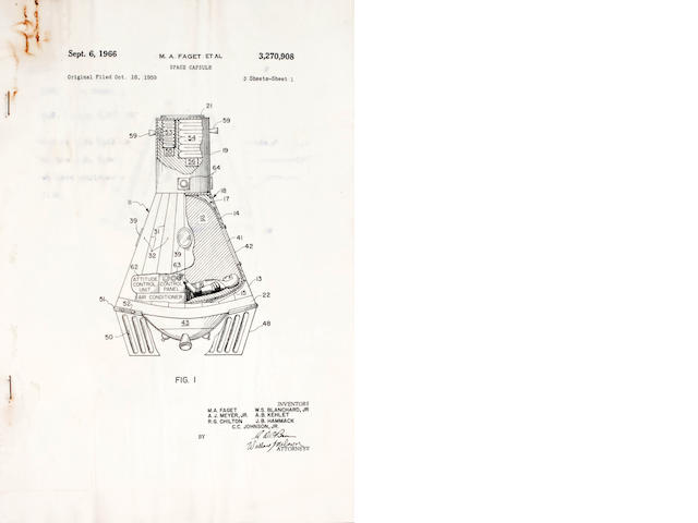 Mercury Capsule US Patent papers