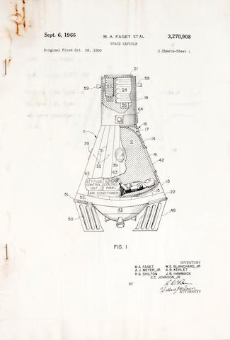 Mercury Capsule US Patent papers