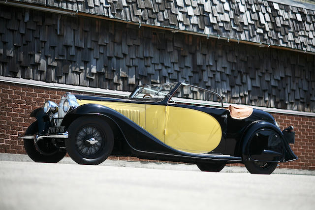 1934 Bugatti Type 57 Stelvio Drophead Coupe  Chassis no. 57202 Engine no. 47